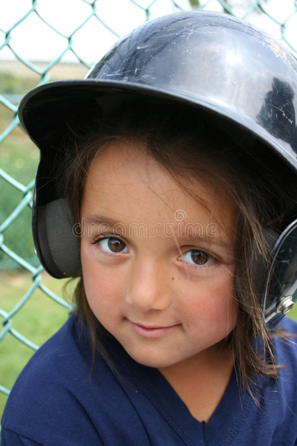Little Tee-Ball Player royalty free stock images