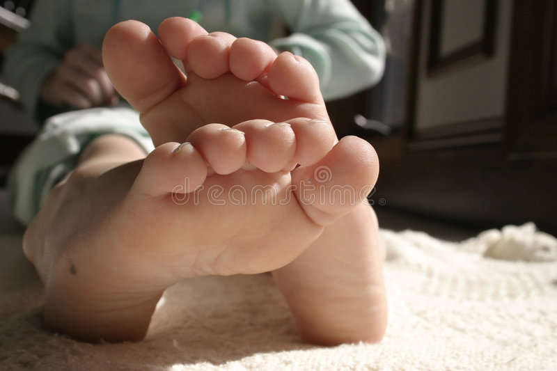 Download Little toes stock image. Image of wiggle, toes, adorable - 599489