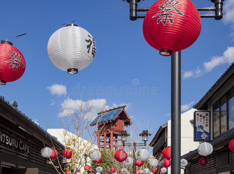Little Tokyo in Downtown stock images