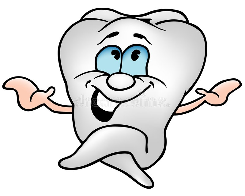 Download Little Tooth stock vector. Illustration of clipart, cartoons - 5670125