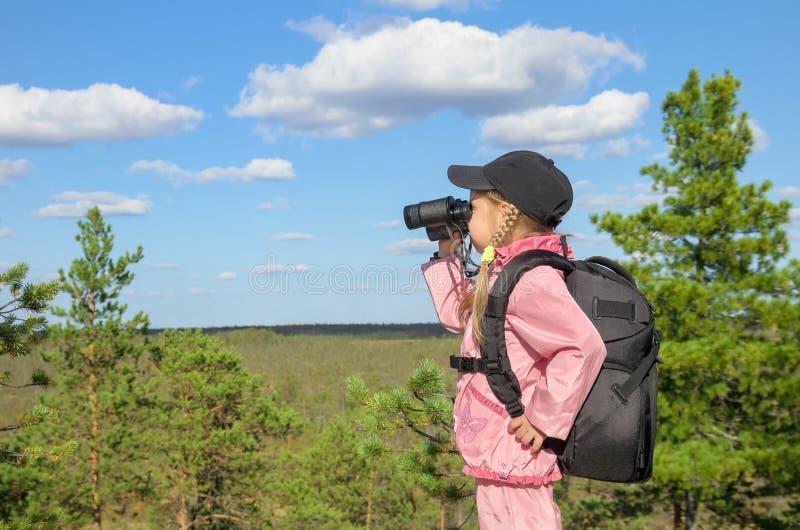 Little tourist stock photography