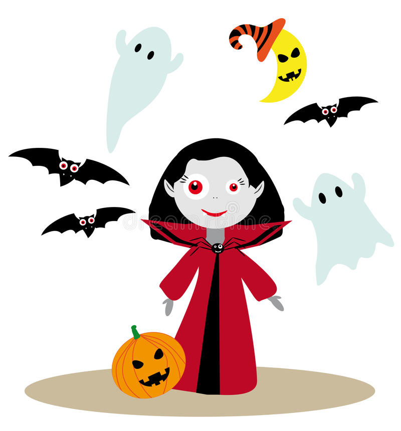 Image result for cute vampire girl clipart