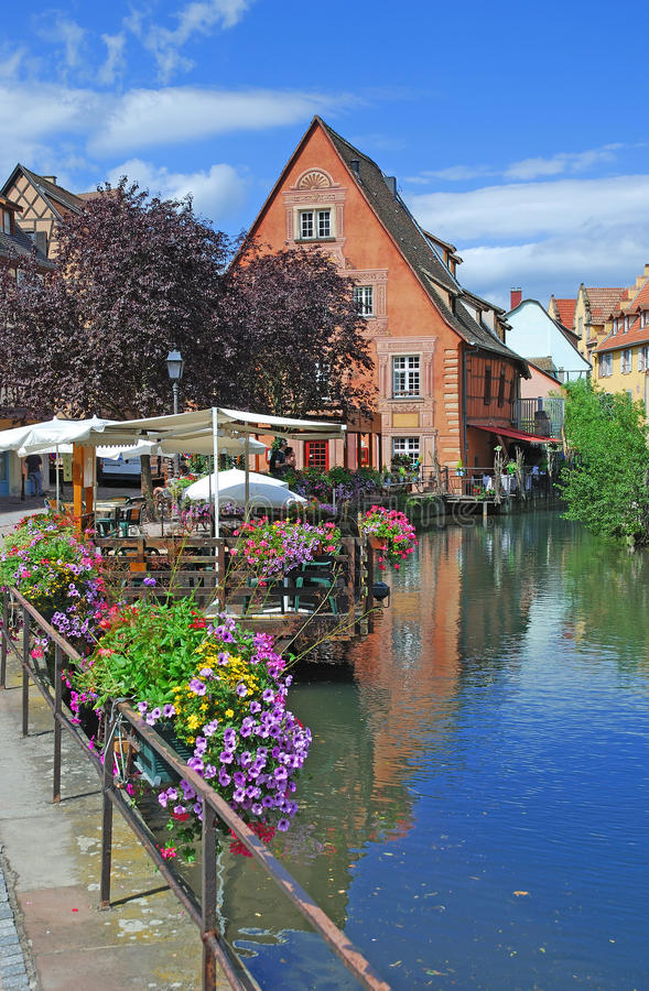 Download Little Venice In Colmar In Alsace Stock Image - Image: 22275637