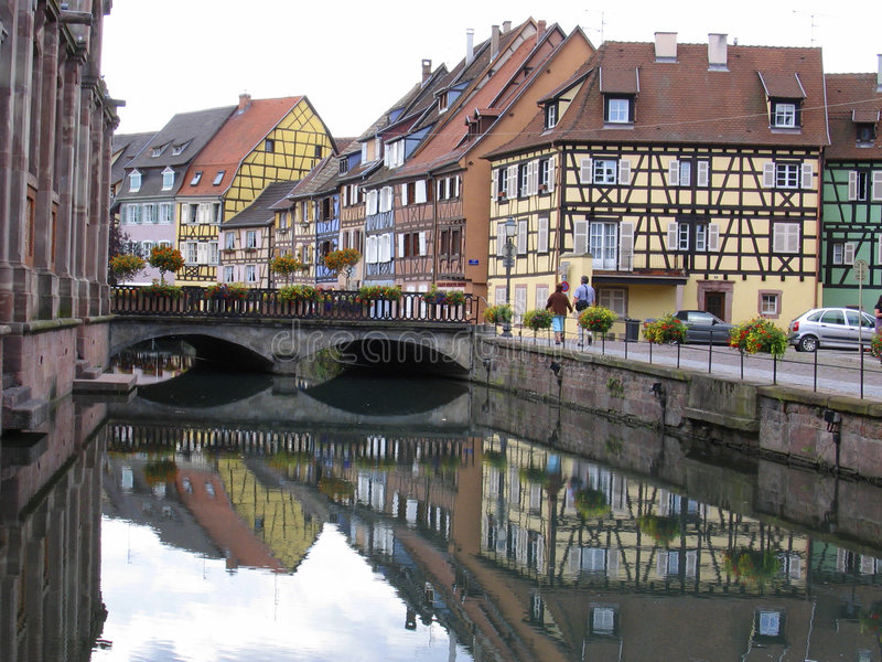 Download Little Venice  Colmar - Alsace Royalty Free Stock Images - Image: 5940539