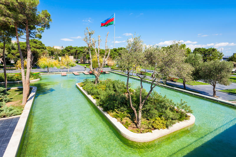 Little Venice water park royalty free stock images