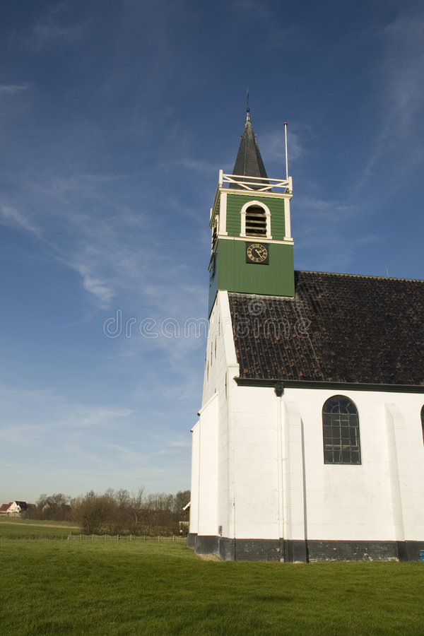Free Little White Church Stock Image - 4433281