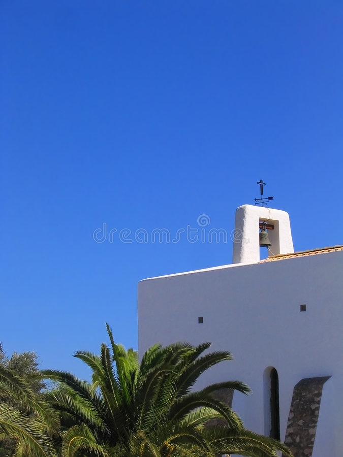 Free Little White Church In Ibiza Royalty Free Stock Photography - 205647