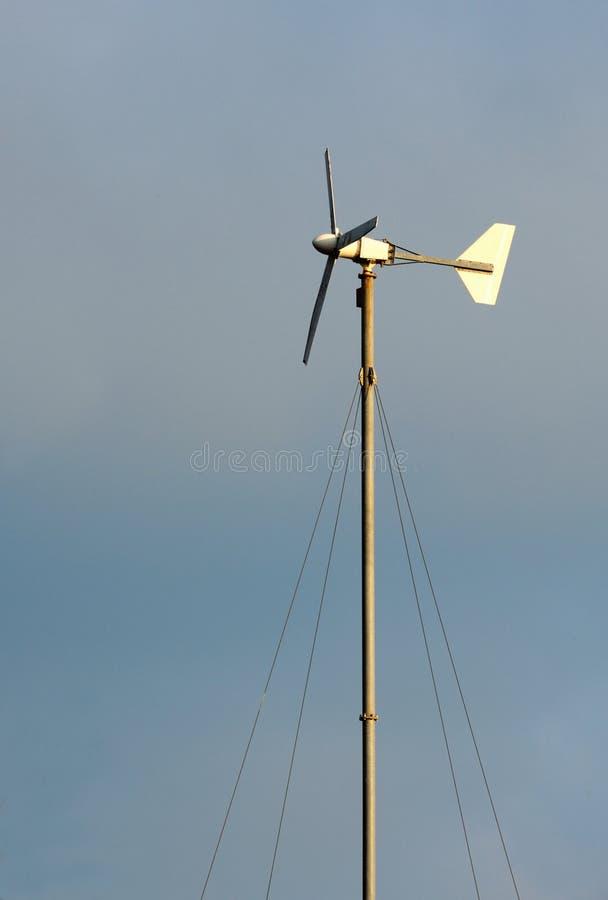 Download The Little Wind Turbine Custom Handmade. Stock Image - Image: 24668637