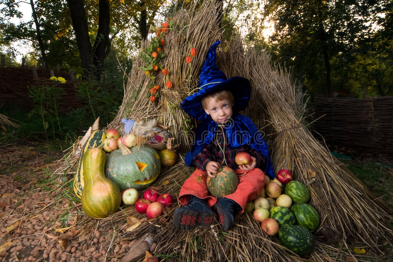 Little wizard stock images