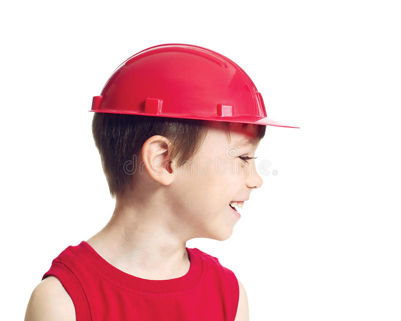 Little worker royalty free stock photo