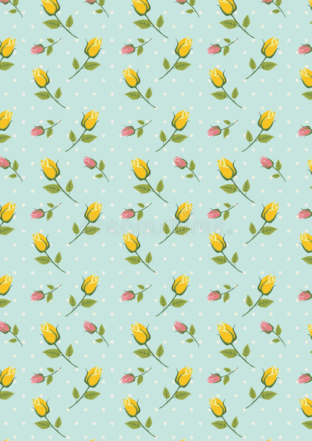 Little yellow pink flower pattern stock vector illustration of download little yellow pink flower pattern stock vector illustration of leaf wallpaper 41928440 mightylinksfo
