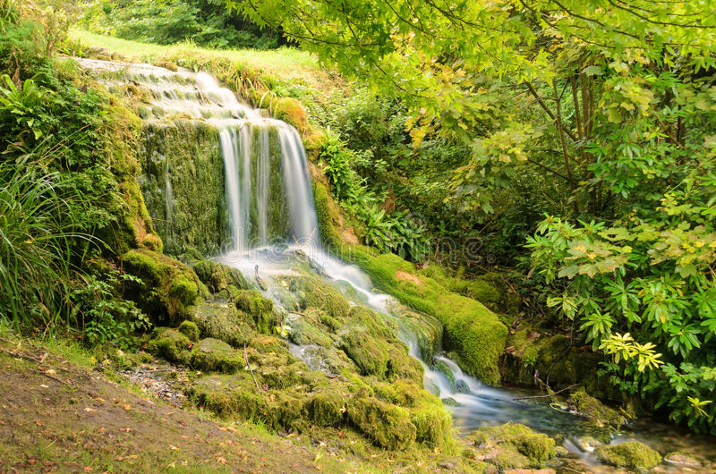 Littlebredy Waterfall royalty free stock photos