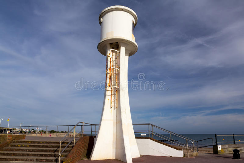Littlehampton Lighthouse. West Sussex England UK royalty free stock photos