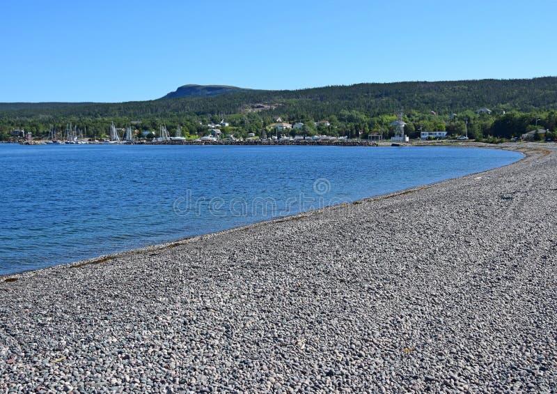Littoral Avalon Peninsula de Holyrood ; Canada du NL photo libre de droits