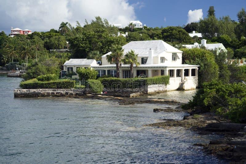 Littoral Bermudes images libres de droits