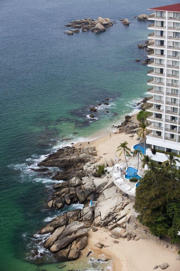 Littoral d'Acapulco photographie stock libre de droits