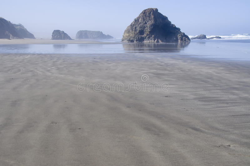 Littoral de la Californie photo stock