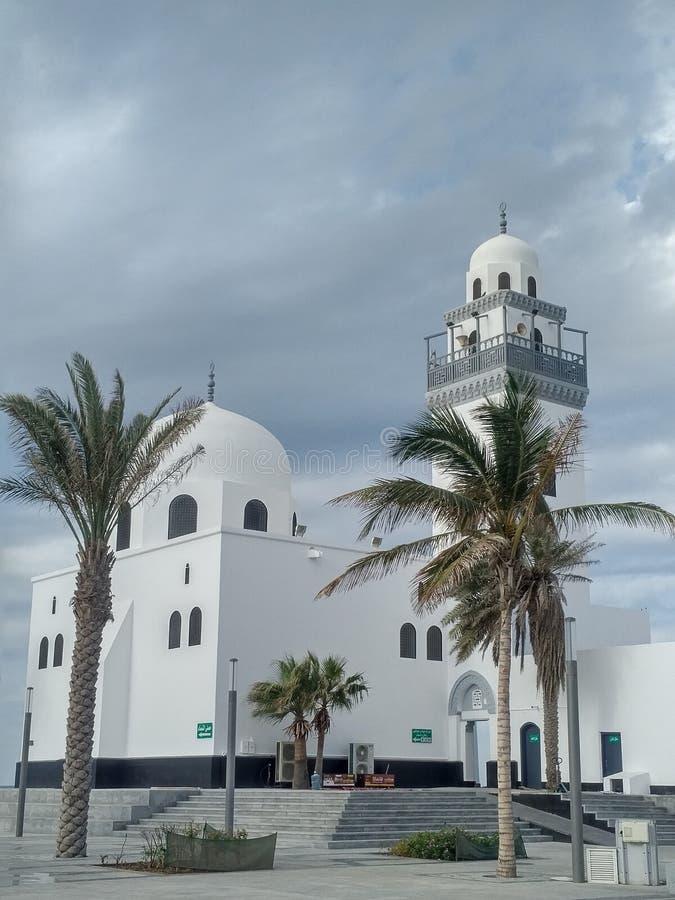Littoral de Masjid Jeddah la saison d'hiver, Arabie Saoudite photos stock