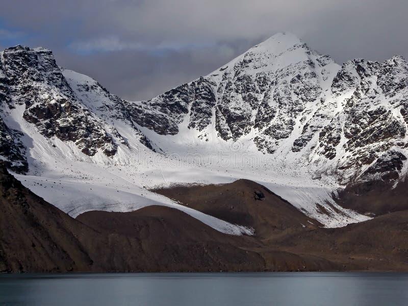 Littoral de Svalbard photos libres de droits