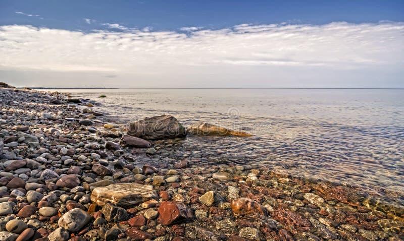 Littoral du lac Ontario image libre de droits