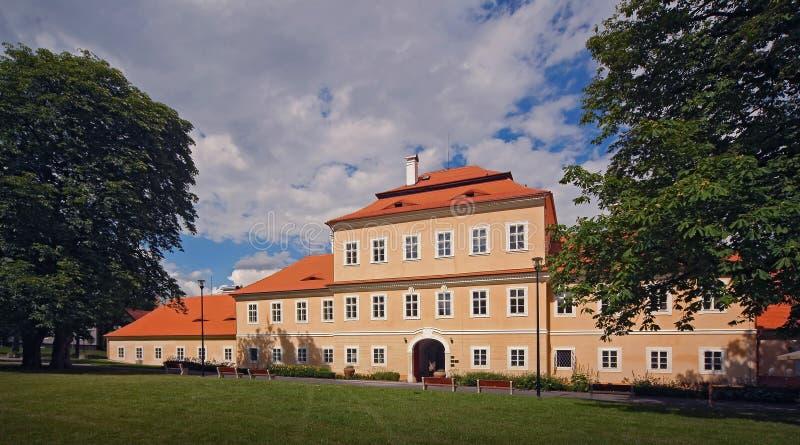 Litvinov - castelo 01 foto de stock royalty free