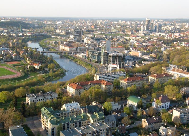 Litwa Wilna miasta fotografia stock