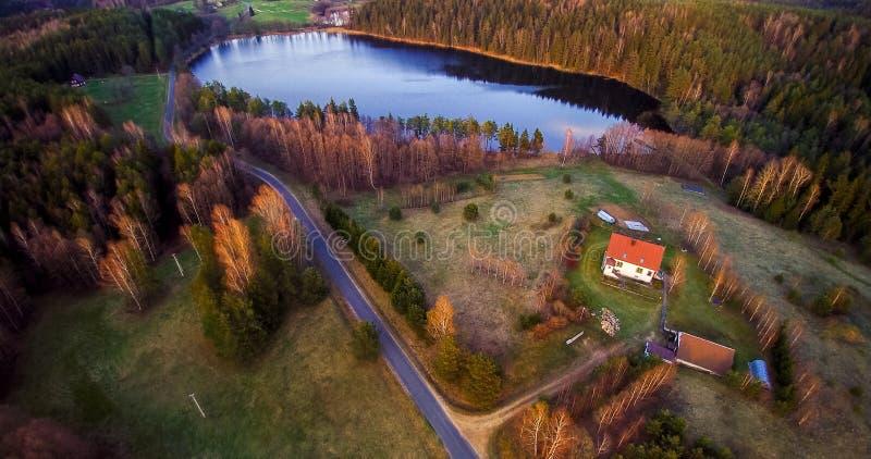 Litwinu krajobraz zdjęcia royalty free