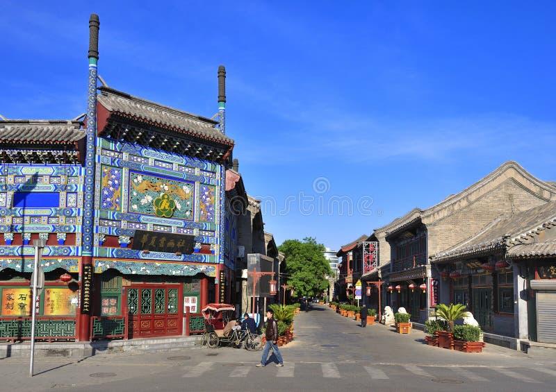 Liu Li Chang, curso de Beijing foto de stock