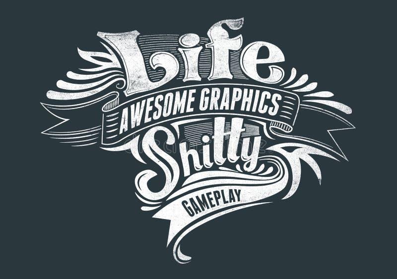 Liv stock illustrationer