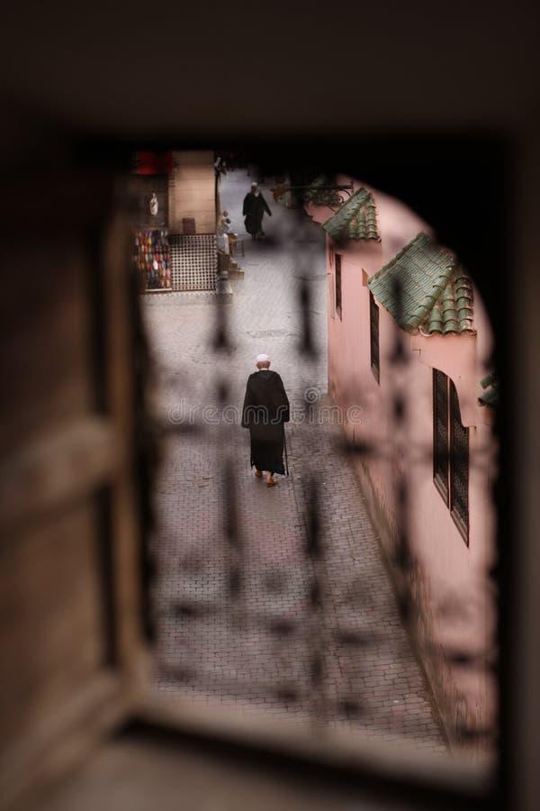 Liv i Marrakech royaltyfri foto