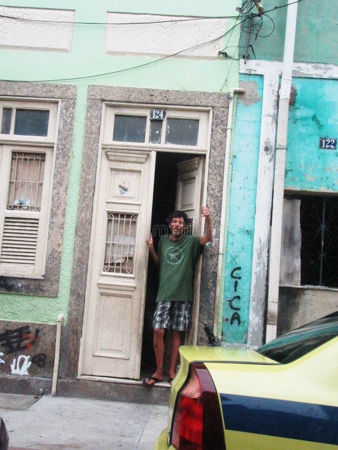 Liv och tider i Rio de Janeiro arkivfoto