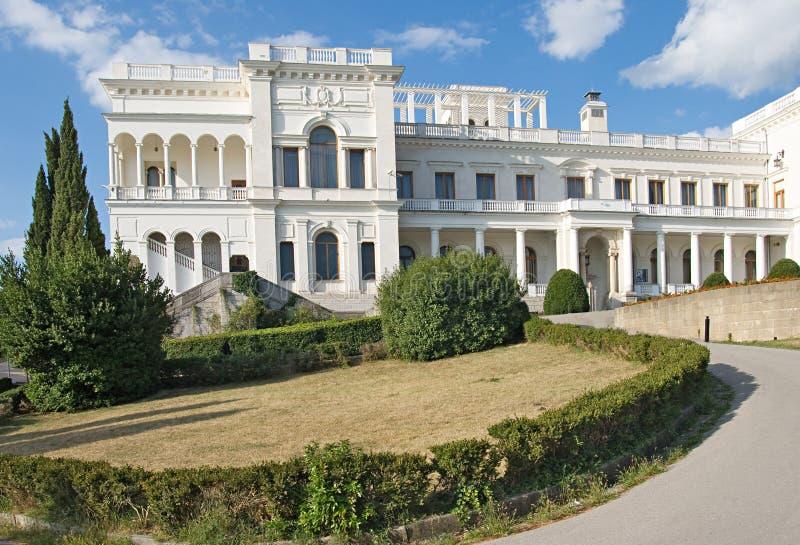 Livadia palace in Yalta stock photo