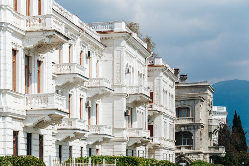 Livadia slott i Krimet royaltyfri foto