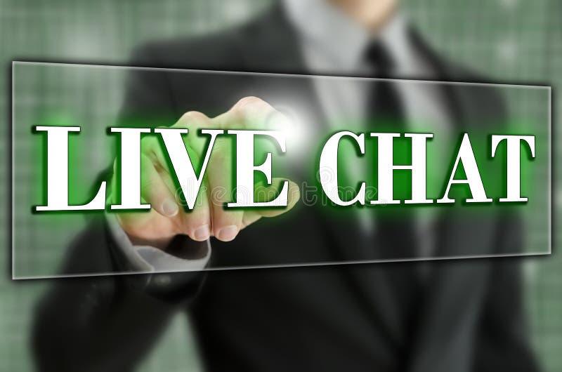 Live-Chat stockfoto