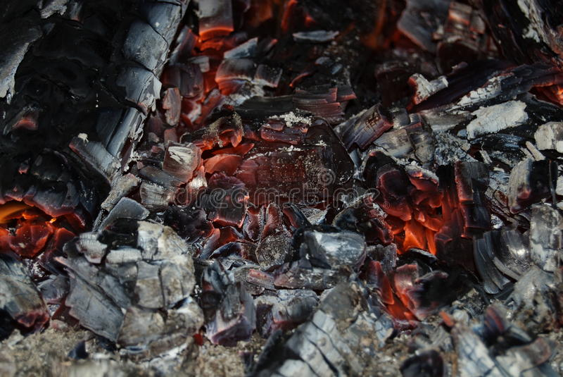 Live coal royalty free stock images