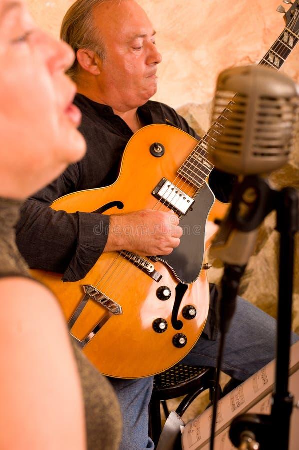 Live Jazz Stock Photo