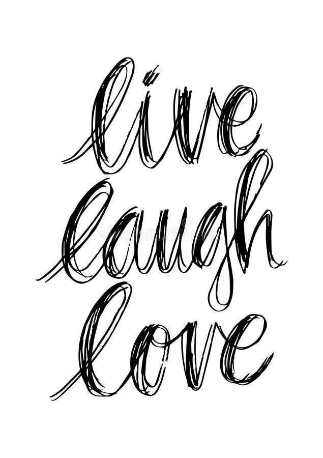 Live Lough Love illustration libre de droits