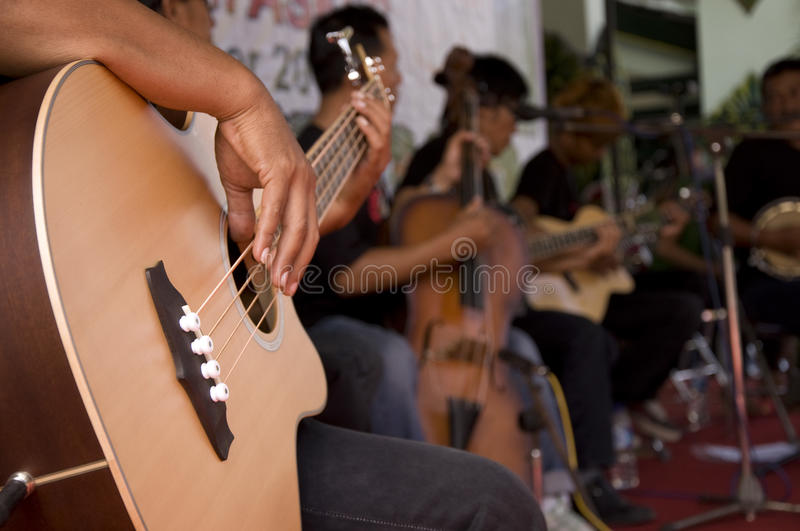 Live Music image stock