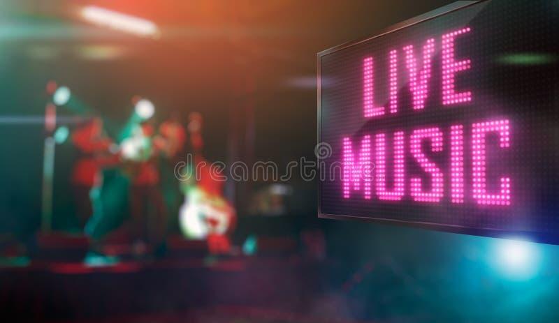 Live Music royalty free illustration