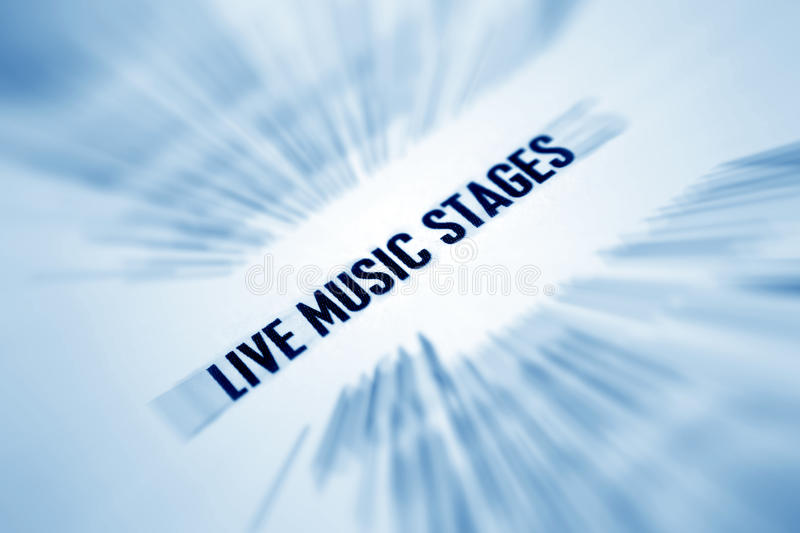 Download Live music  stage stock image. Image of melody, pattern - 16020019