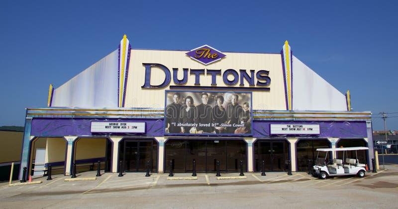 Live Musical Performance Center del Dutton foto de archivo libre de regalías