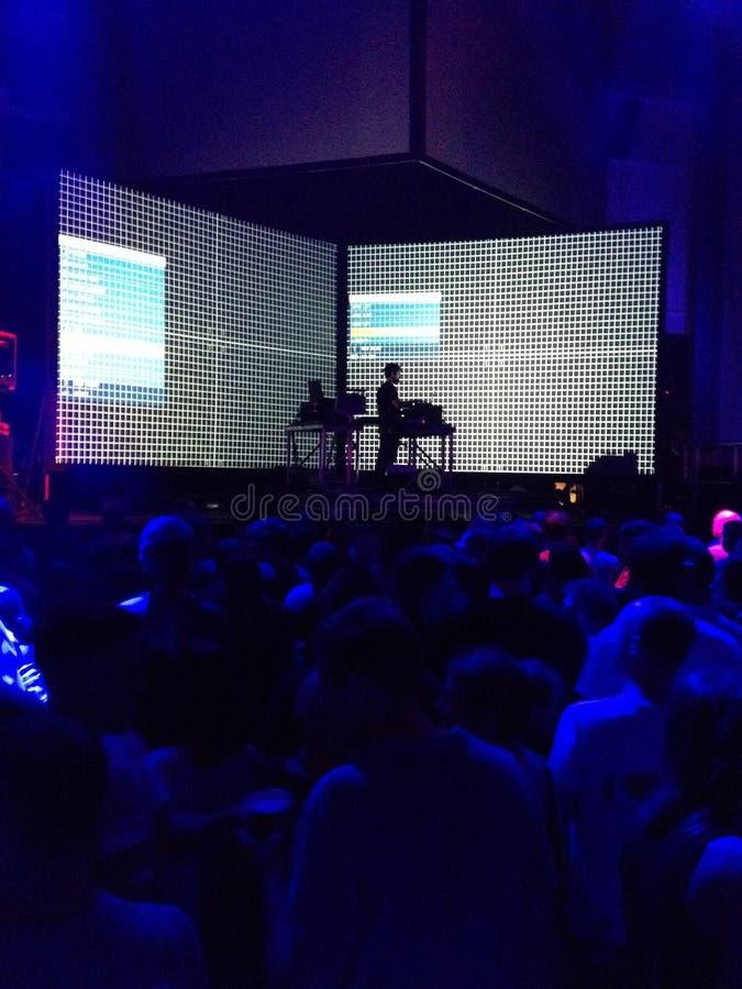 Live-Musik-Ereignis stockbild