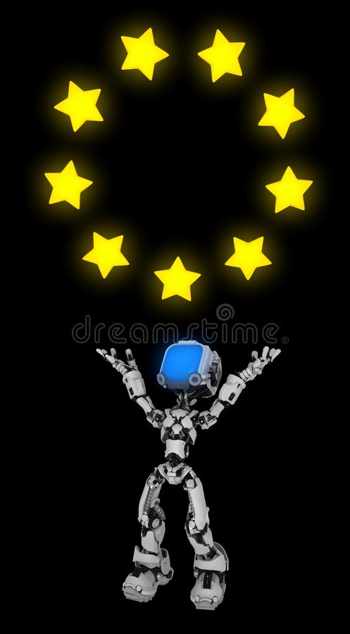 Live Screen Robot, círculo da estrela