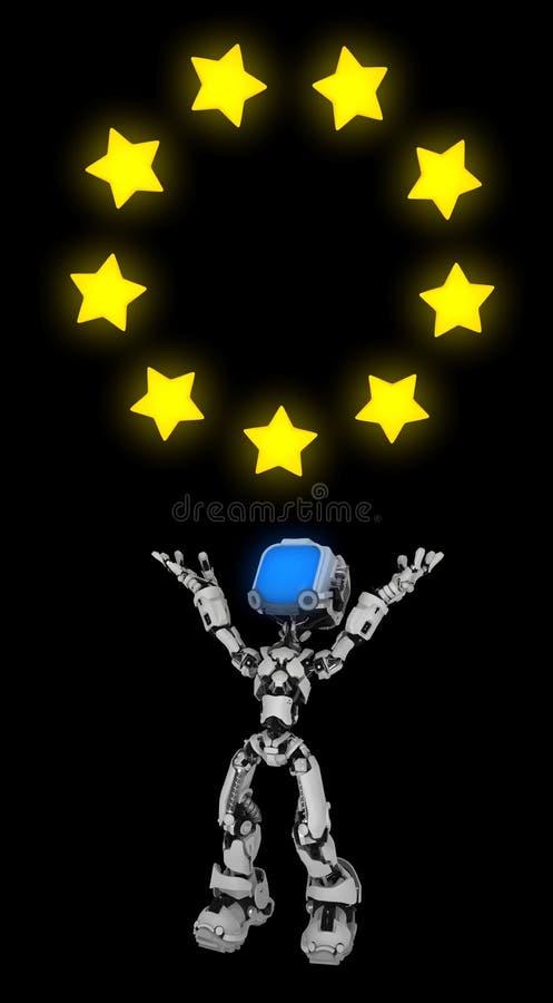 Live Screen Robot, círculo de la estrella