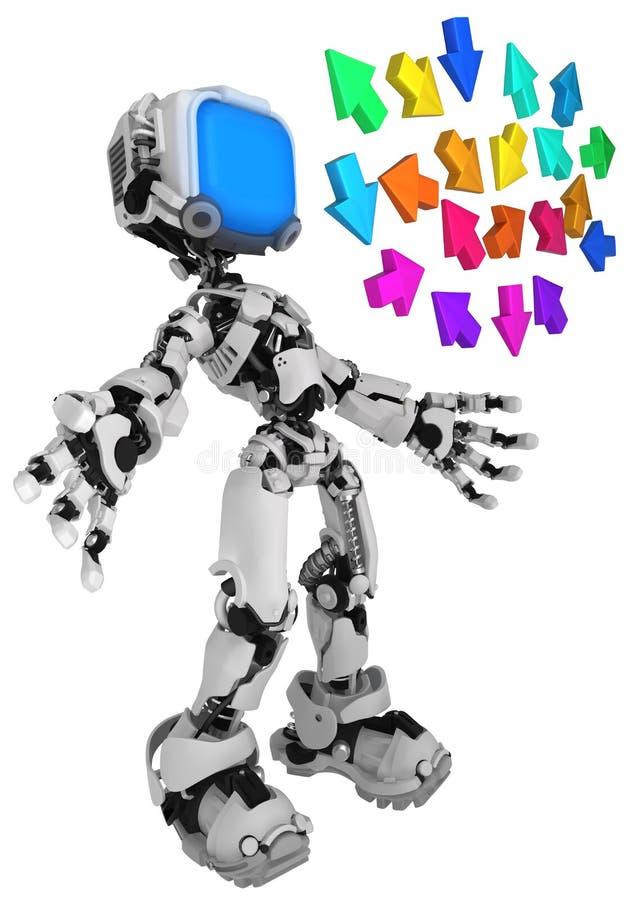 Live Screen Robot, color de las flechas