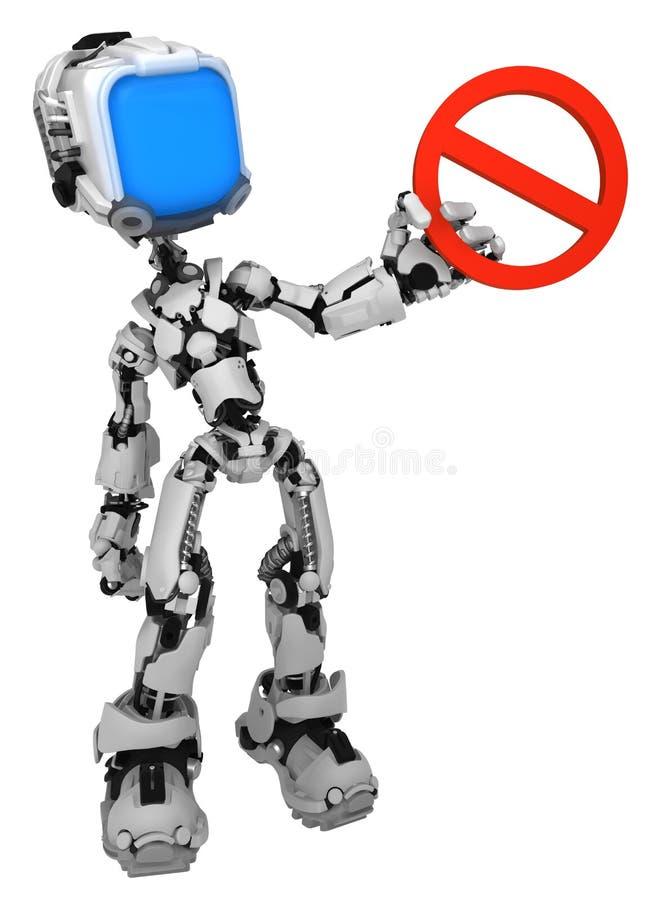 Live Screen Robot, guardando a proibição