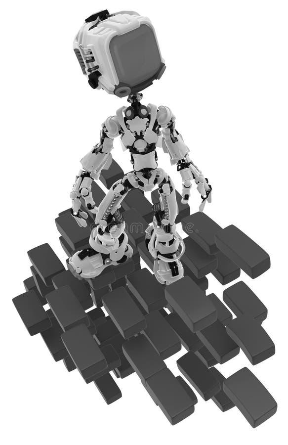 Live Screen Robot, ladrillos molió