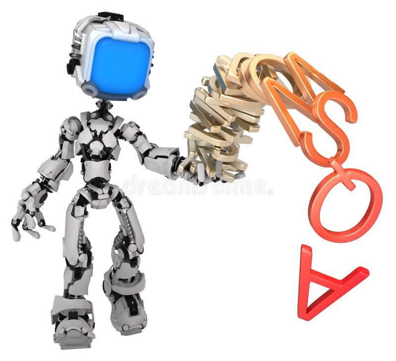 Live Screen Robot, pila del alfabeto