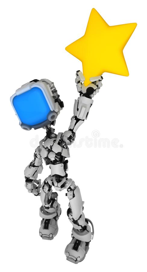 Live Screen Robot, posse da estrela