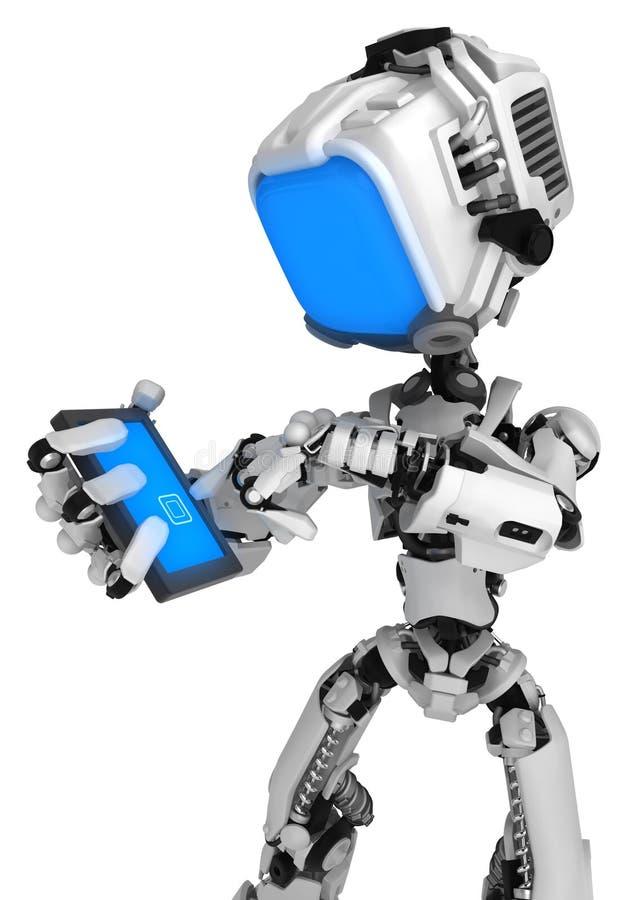 Live Screen Robot, teléfono libre illustration